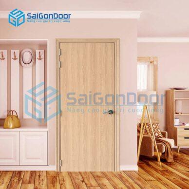 Cửa nhựa giả gỗ cách âm SYB.100-B06