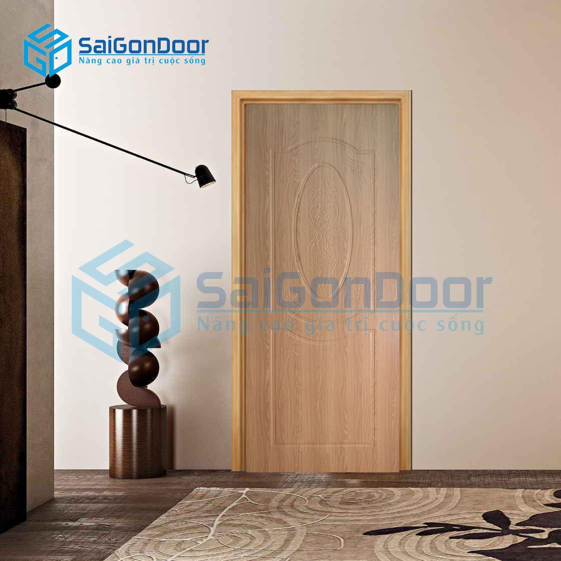 Cửa nhựa giả gỗ chống ẩm SYB.243-B02
